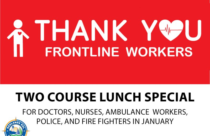 Thank You Frontline Workers – Lunch Special