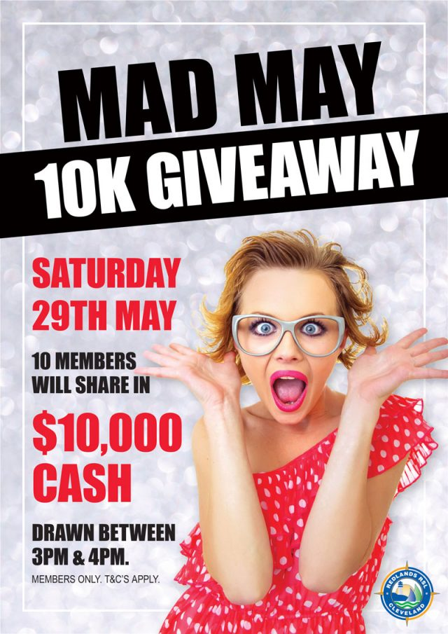 MAD MAY 10K GIVEAWAY
