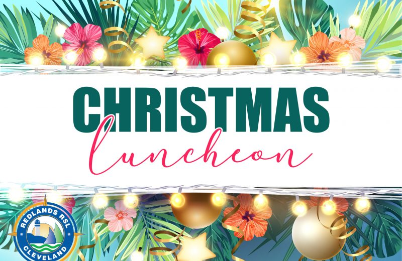 Christmas 2 Course Lunch Special – December